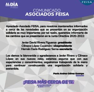 COMUNICADO JUNTA DIRECTIVA-04